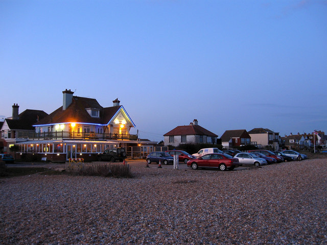 Pevensey Bay Beach Cafe The Beach in Pevensey Bay